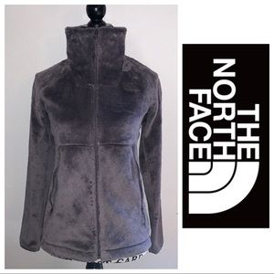 The North Face High Neck Mauve Fleece Full Zip XS